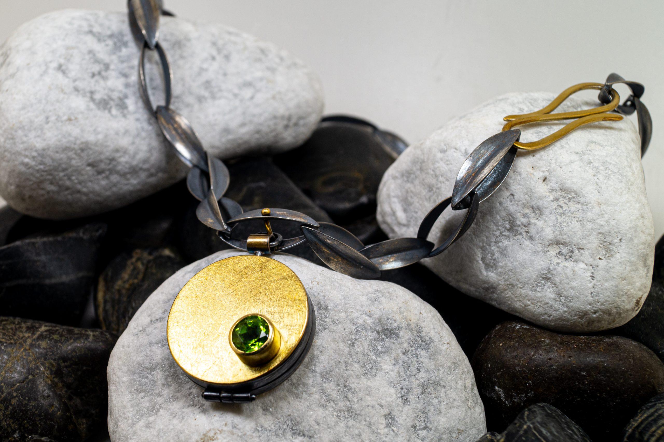 Medaillon Peridot